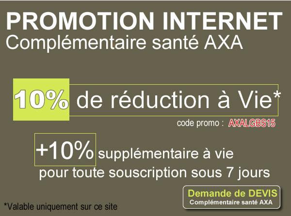Reduction santé AXA